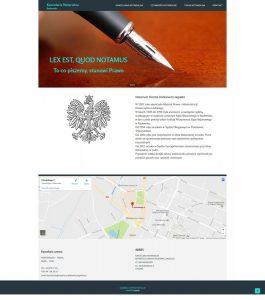 strony typu one page realizacje