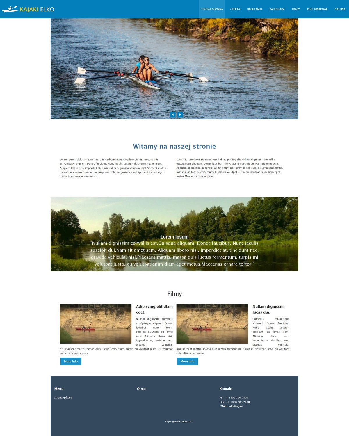 strony www portfolio