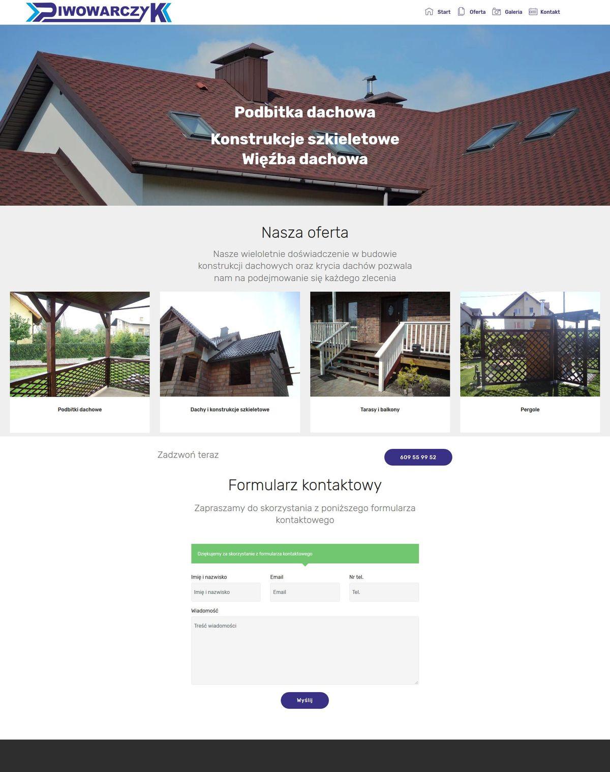 strony na wordpress przykłady realizacje