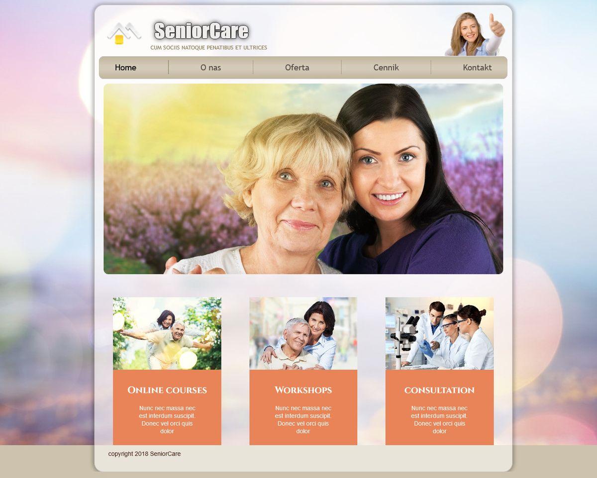 strony www portfolio paweł nowicki